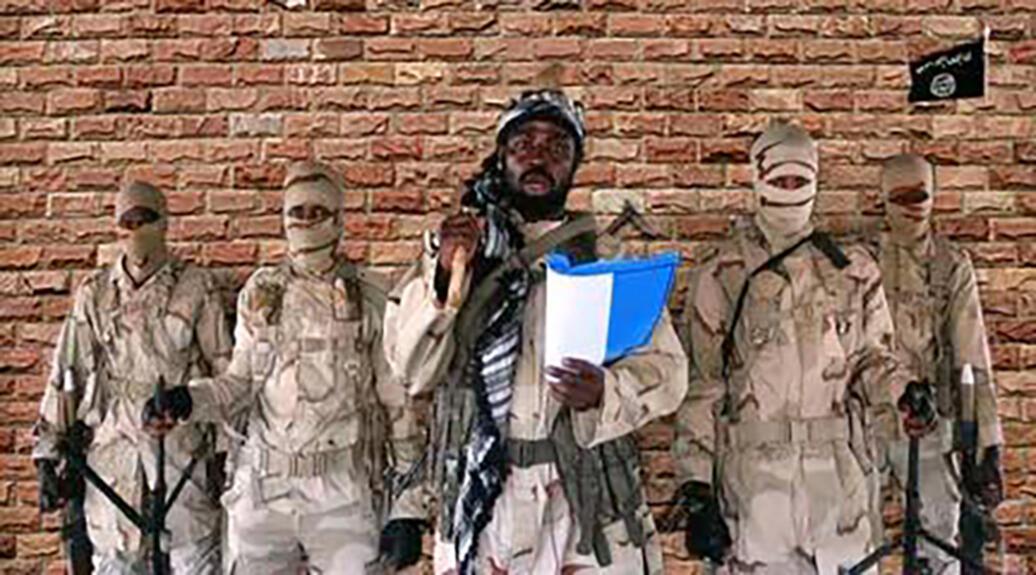 Boko Haram leader Abubakar Shekau seen in a 2018 video