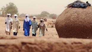 Les six humanitaires enlevés en octobre 2012 avaient été kidnappés par le Mujao dans la région de Dakoro (notre photo).