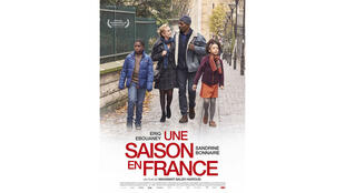 L'affiche du film «Une saison en France».