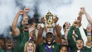 Siya Kolisi skippered South Africa to a third Rugby World Cup victory last November.
