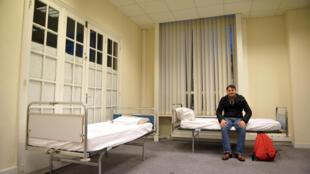 Центр временного размещения беженцев во Франции