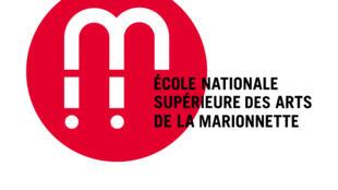 Logo de l'Ecole nationale des Arts de la marionnette.