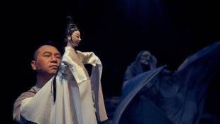 真快樂掌中劇團的劇作《孟婆.湯》