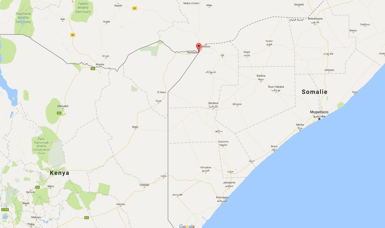 De violents combats ont éclaté ce lundi 11 septembre 2017 matin dans une ville frontalière de la Somalie et du Kenya, Belad Hawo proche de Mandera.