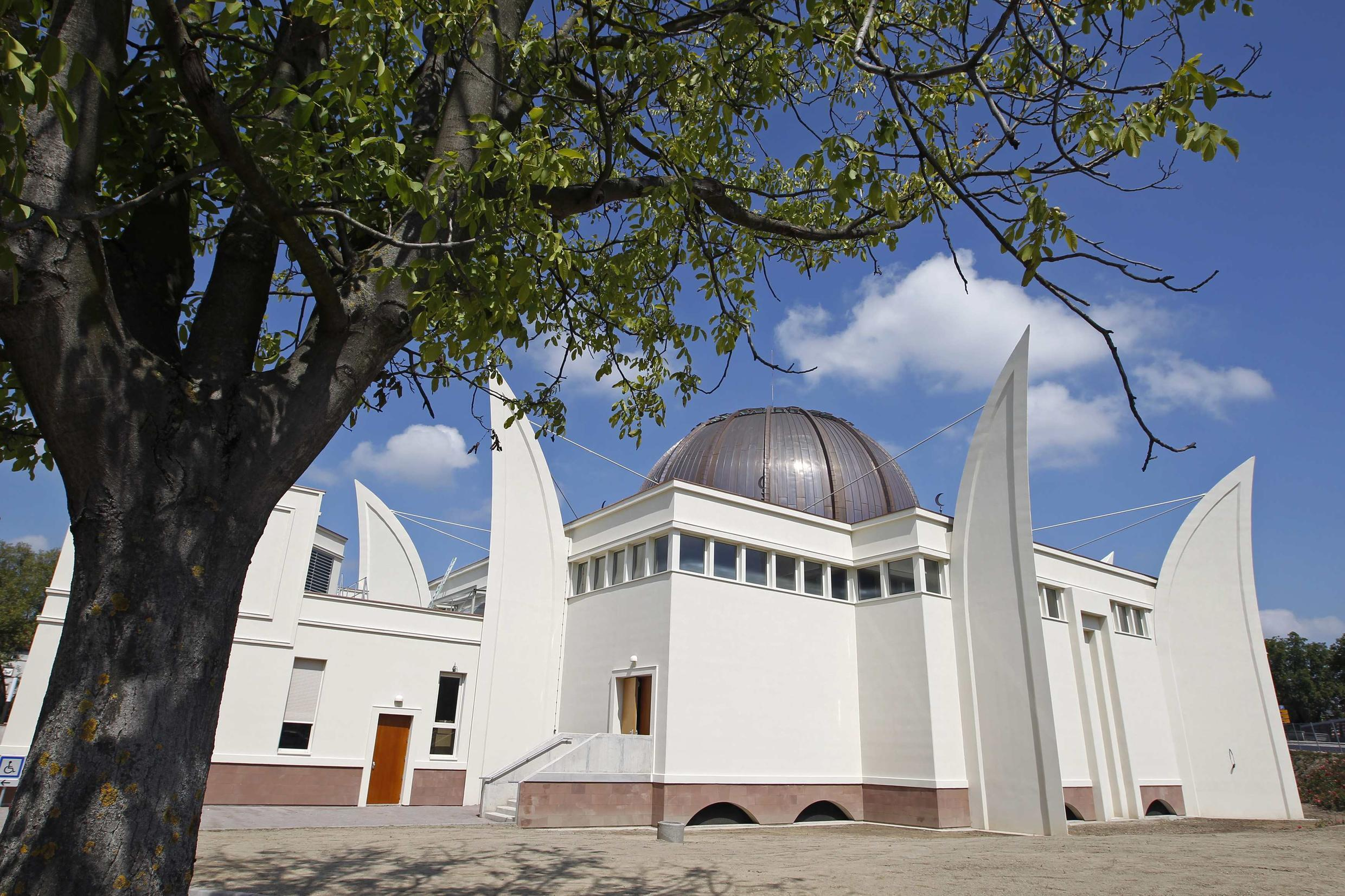 A mosque that opened last month in the French city of Strasbourg