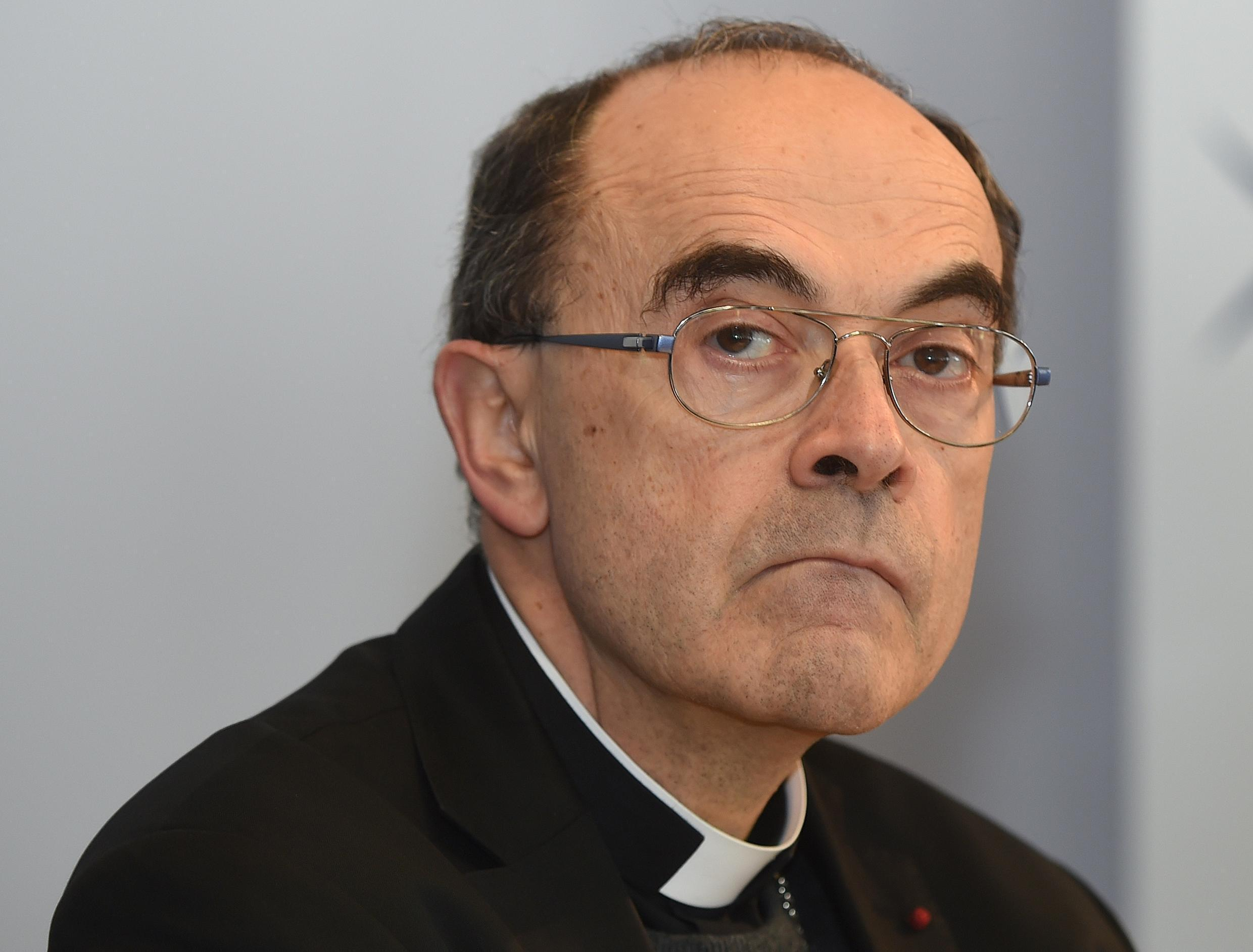 Archbishop of Lyon Philippe Barbarin, pictured in 2016, is the most senior French priest to be caught up in a global paedophilia scandal that has seen clergy hauled before courts from Argentina to Australia