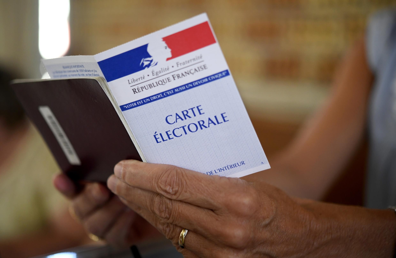 Удостоверение французского избирателя