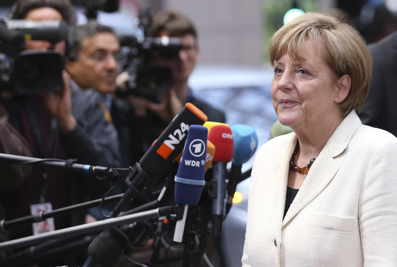 59% dân Đức cho biết có thiện cảm với chính phủ liên minh của bà Angela Merkel - REUTERS/Francois Lenoir