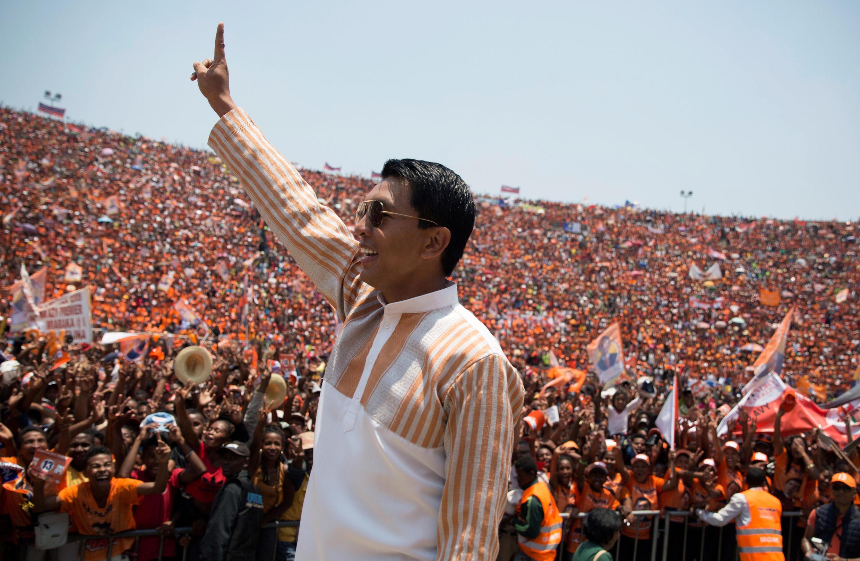 Pour gagner l'élection, Andry Rajoelina a beaucoup promis. Place maintenant à l'action (photo d'archives).