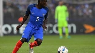 N'Golo Kanté has established himself in France's midfield since his international debut in March 2016.