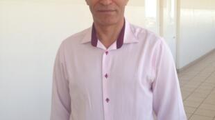 Daniel Medina, professor de jornalismo na Universidade de Cabo Verde.