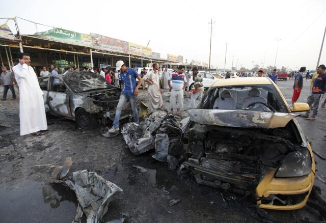 Atentado terrorista com carro bomba em Bagdá, 27 de maio de 2013