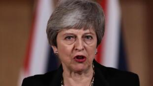 英国首相特蕾莎梅试图说服议员投票支持脱欧协议