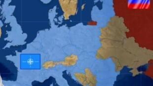 """Hy Lạp và Châu Âu : liệu cuộc trường chinh Odyssée có tới đích ? Ảnh chụp màn hình chương trình """"Hy Lạp ra khỏi euro : một vấn đề địa-chính trị"""" trên truyền hình TF1, ngày 08/07/2015."""