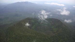 Parc Virunga, Nord Kivu, RD Congo.