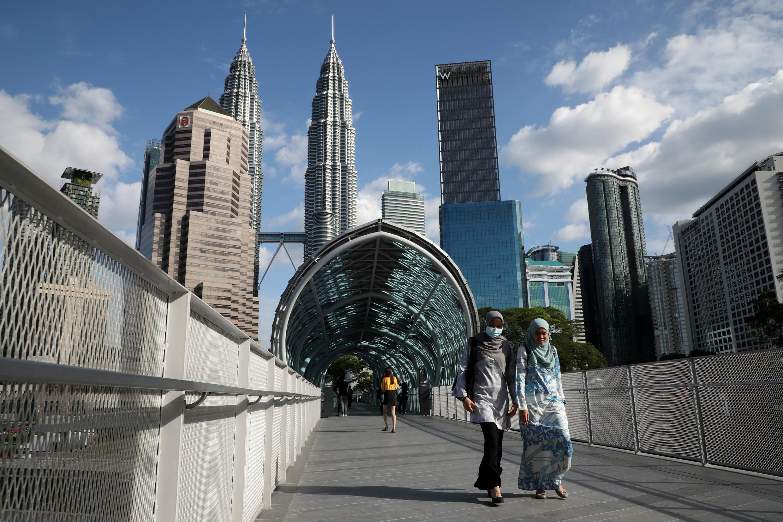 Vue de Kuala Lumpur, la capitale de la Malaisie (image d'illustration).