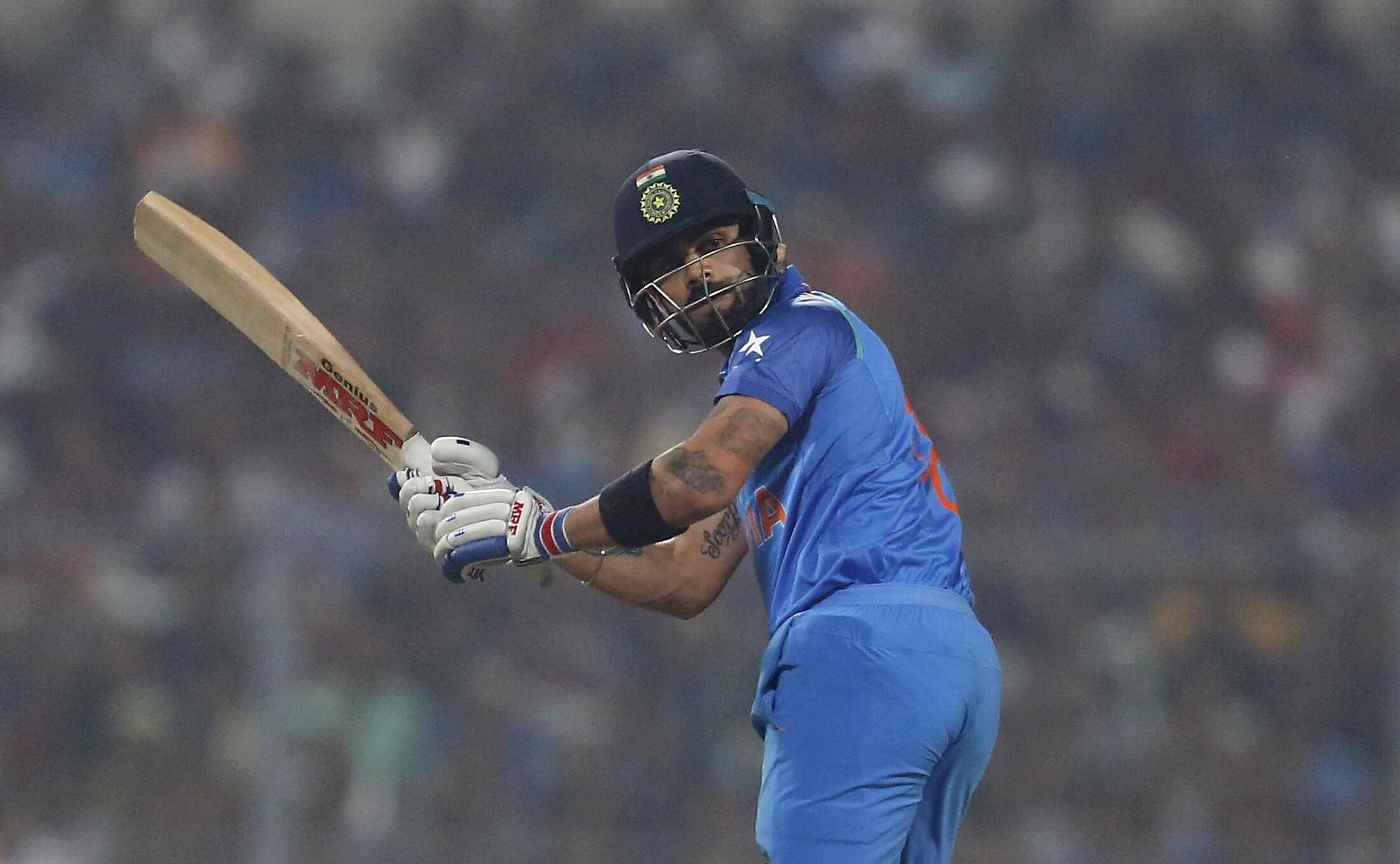 India's captain Virat Kohli (seen in this file picture) scored a masterly double hundred against Bangladesh.