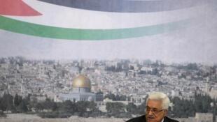 O presidente da Autoridade Palestina, Mahmoud Abbas, discursa hoje na Assembleia Geral da ONU.