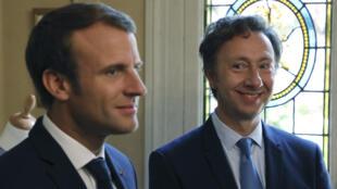 Stéphane Bern, le «Monsieur Patrimoine» d'Emmanuel Macron.