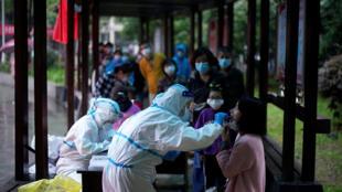 武汉对全民实施新冠病毒筛检,2020 05 14
