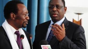 Le président sénégalais Macky Sall était reçu par Barack Obama à Washington, jeudi 28 mars 2013.