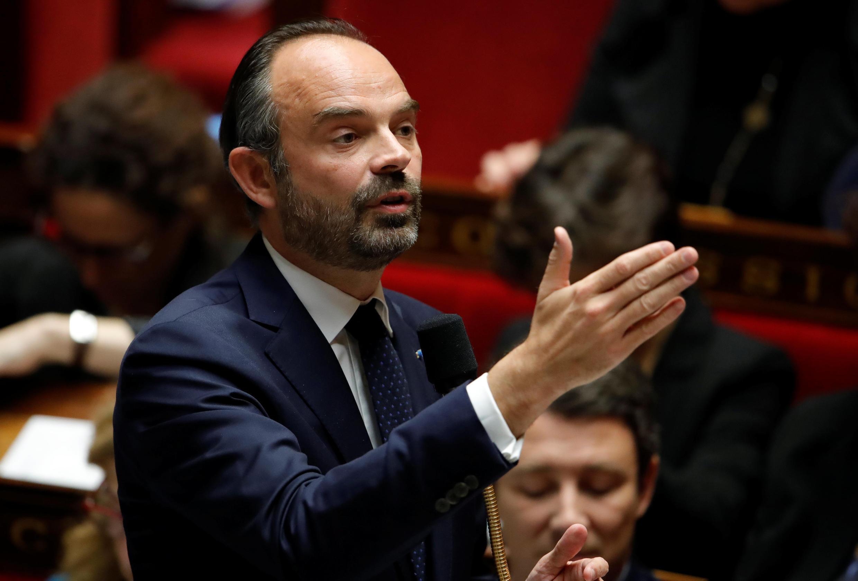 Édouard Philippe, primeiro-ministro francês.