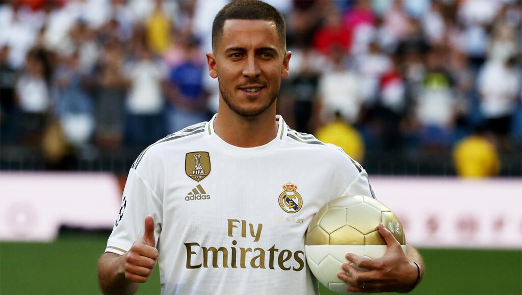 Eden Hazard dan wasan Real Madrid da ya harbu da korona.