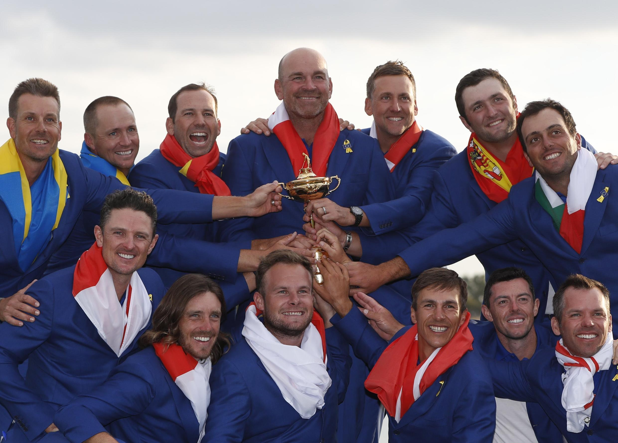 Europe's leading golfers claimed the 2018 Ryder Cup at Le Golf National just outside Paris.