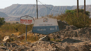Konkola mine copper mine Zambia UK settlement