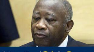 O ex-presidente da Costa do Marfim, Laurent Gbagbo, durante primeira audiência no TPI, em 5 de dezembro 2011.