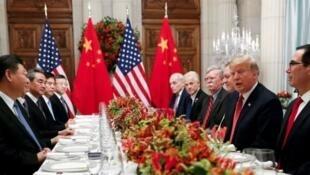 Cuộc họp Mỹ-Trung tại Achentina ngày 01/12/2018.
