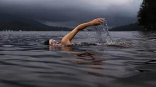 illustration natation