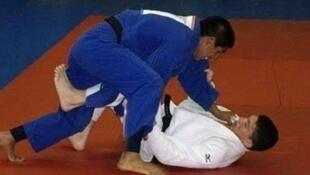 Juan Miguel Postigos representa a Perú en Judo, menos de 60 kilos.