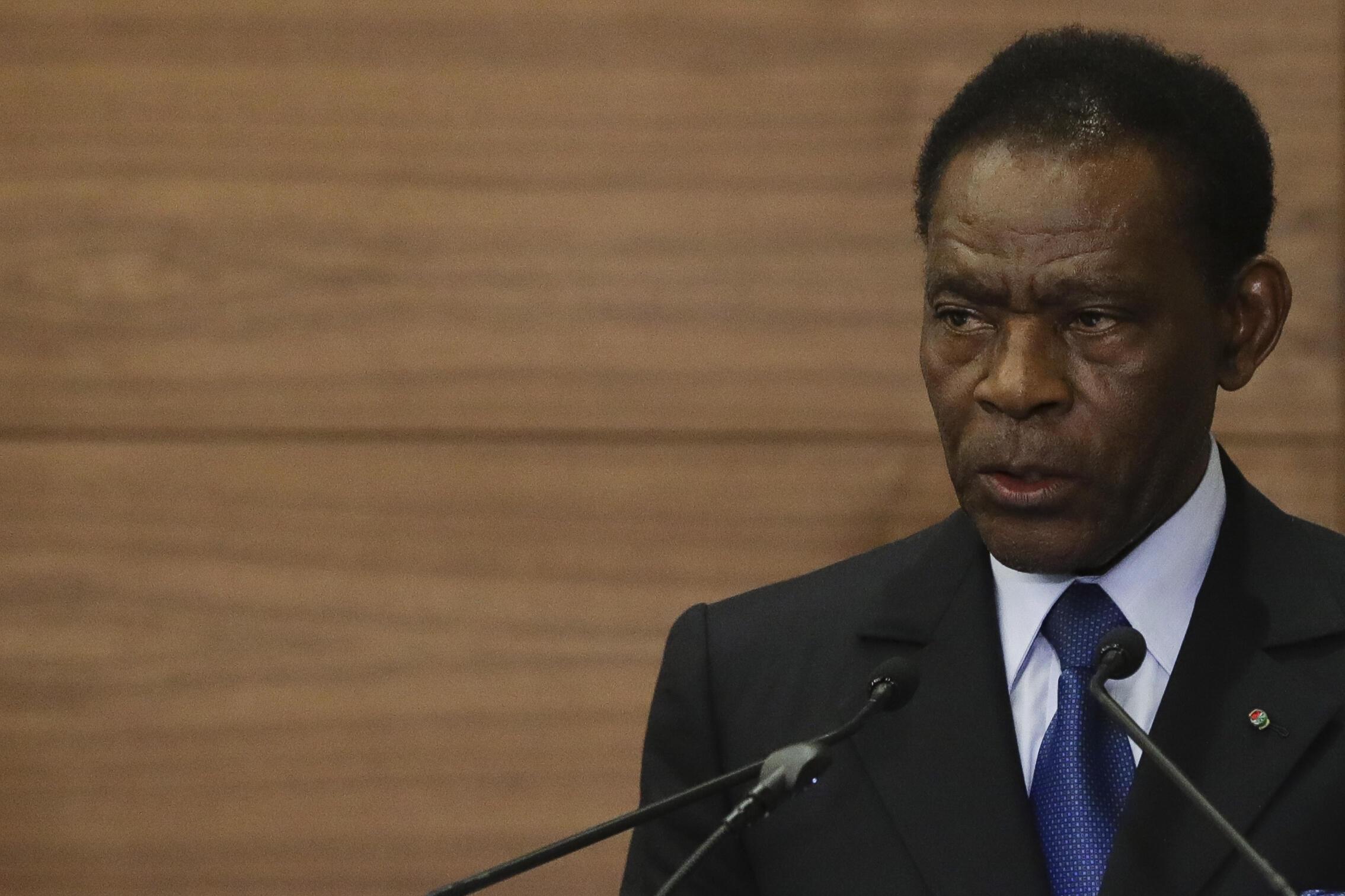 Teodoro Obiang Nguema Mbasogo, presidente da Guiné-Equatorial