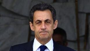 法國前總統尼古拉-薩科齊。圖片攝於2012年11月29日