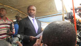 Le leader des rebelles hutus des FDLR, Victor Byiringiro, en mai 2014 en RDC.