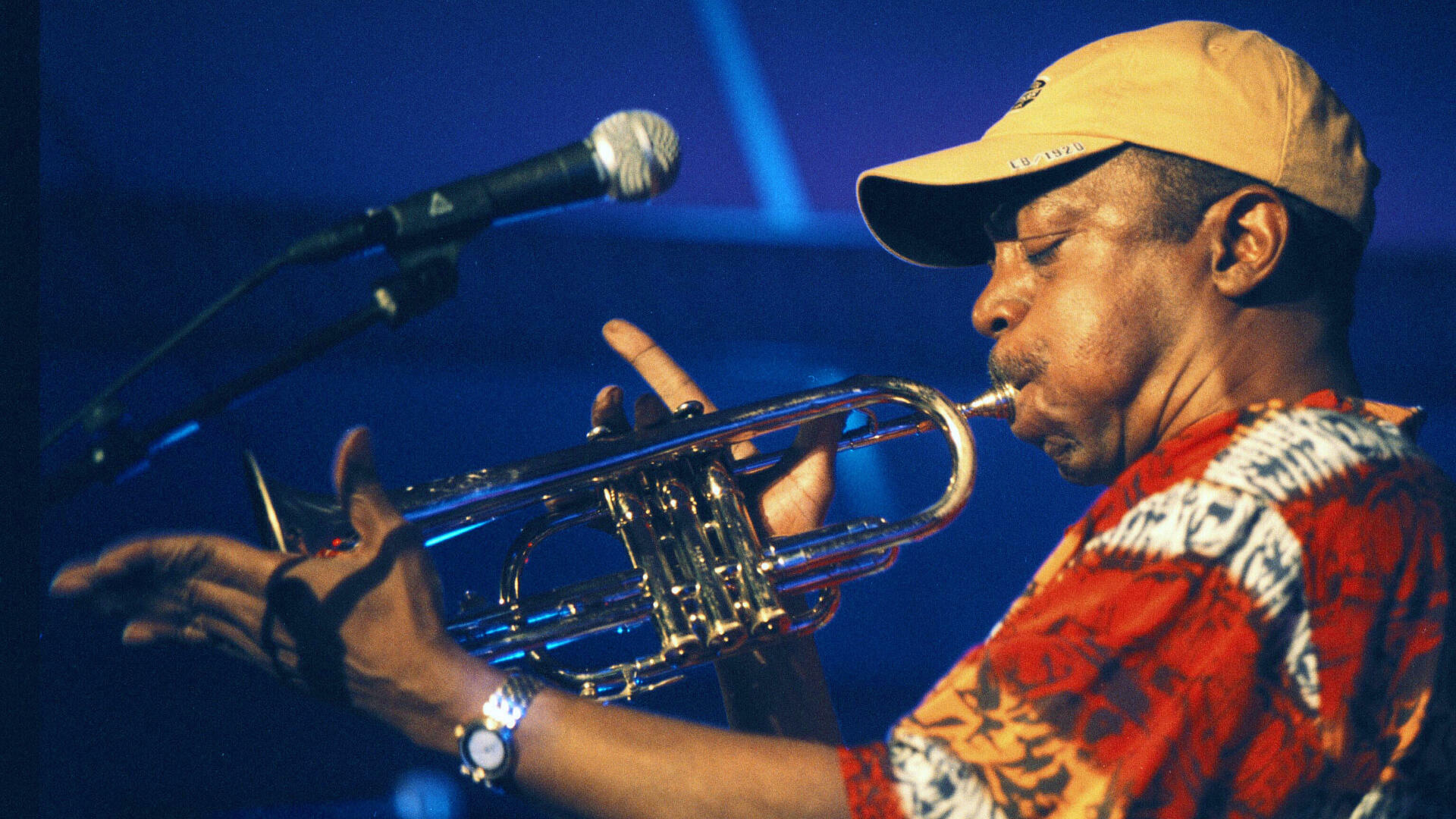 Olu Dara trompettiste festival North sea Jazz La Hague 2001