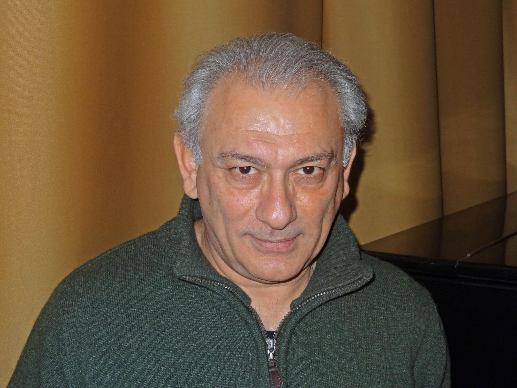 L'acteur et co-réalisateur du film «Paradjanov», Serge Avedikian, au Festival du film «Nuits noires» de Tallinn (PÖFF) le 30 novembre 2013.