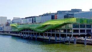 Le 4e forum Expat se tient à la Cité de la mode et du design, quai d'Austerlitz à Paris, les 31 mai et 1er juin 2016.