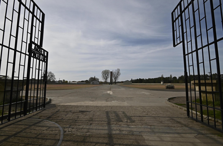 Imagen del ex campo de Sachsenhausen, al norte de Berlín