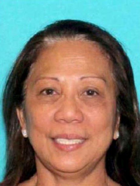 Bà Marilou Danley, 62 tuổi, người Úc gốc Philippines, bạn gái của hung thủ Paddock. Ảnh do Cảnh sát Las Vegas công bố ngày 02/10/2017.