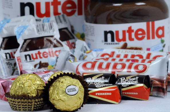 Nutella, and other products made from Nutella