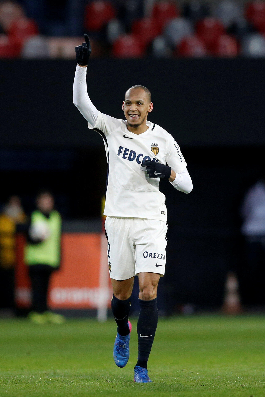 Fabinho, jogador do Mônaco.