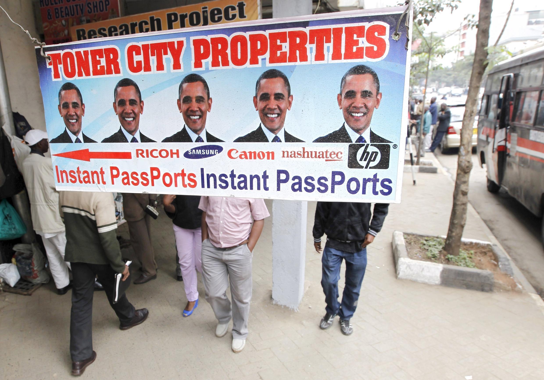 A Nairobi, la visite d'Obama est dans toutes les têtes.