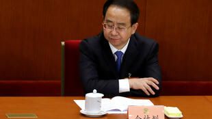 Ông Lệnh Kế Hoạch (Ling Jihua) nguyên phó chủ tịch Toàn quốc Chính hiệp Trung Quốc trong một hội nghị tại Bắc Kinh ngày 11/03/2013.