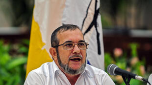O líder das Farc Timoleón Jiménez. Foto de arquivo do 23/09/2015