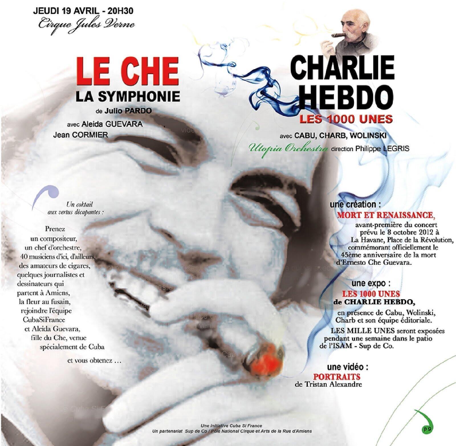 La sinfonía compuesta en homenaje al Che se interpretará por primera vez este 19 de abril en la ciudad francesa de Amiens.