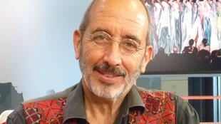 Álvaro Restrepo en los estudios de RFI