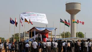 Annonce des résultats préliminaires du référendum au Soudan, le 30 janvier 2011.