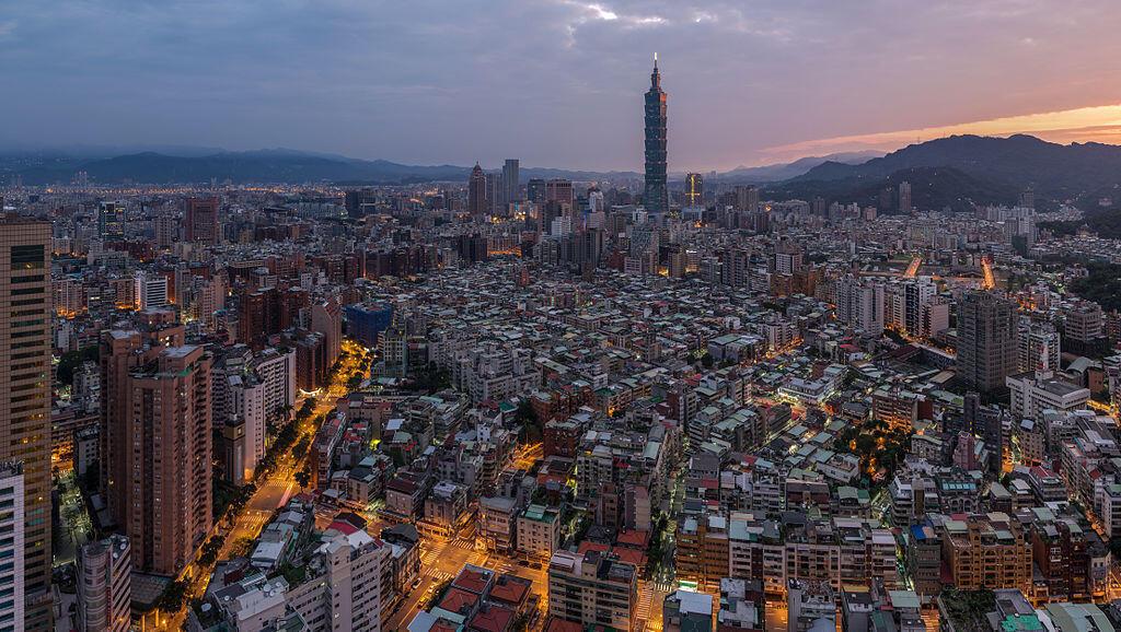 Vue générale de Taipei, la capitale taiwanaise (image d'illustration).
